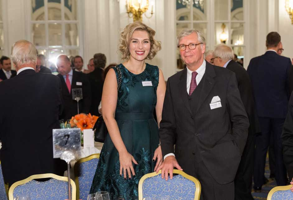 Managing Director Dr. Helena Melnikov and Chairman oft he Board Thomas Haas-Rickertsen